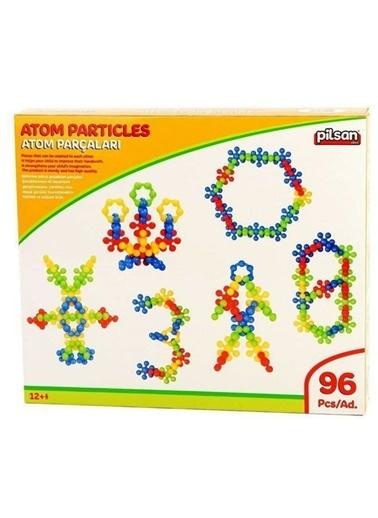 Pilsan Pilsan 03300 Atom ParÇaları 96 ParÇa Renkli